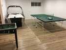 Salle familliale: Ping-pong baby foot, hockey sur air et autres
