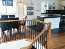 Top Floor, Dining room kitchen and staircase