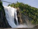 Montmorency falls in the summer time (15 min. from our house)