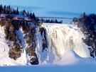 Montmorency falls in winter (15 min. from our house)