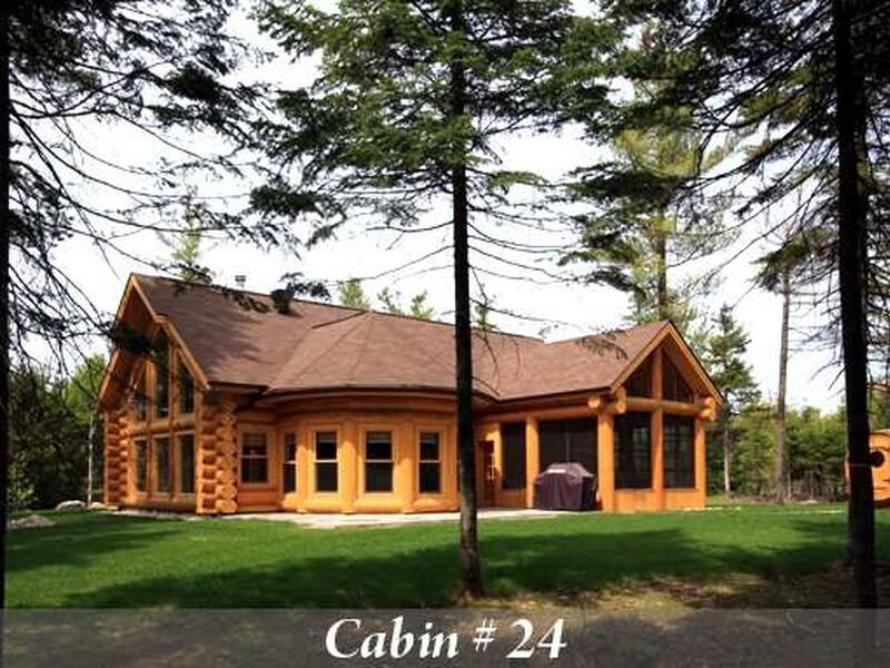 Location Du Chalet Cabin En Bois Rond Fiddler Lake