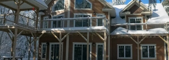 Location du chalet chalet movendo lac simon outaouais for Club piscine ste agathe des monts